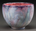 Ceramics & Porcelain, American:Modern  (1900 1949)  , Rookwood Bowl Decorated by Wilhelmina Rehm. Circa 1929. Marks: (RP addorsed with 14 flames), XXIX, 2254E, WR. Ht. 4-1/4 ...
