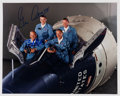 Autographs:Celebrities, Gemini 12 Crew and Backup Crew-Signed Color Photo. ...