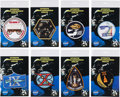 Explorers:Space Exploration, Gemini Mission Embroidered Insignia Patches by A-B Emblem, Set ofEight. ...