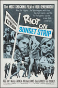 """Movie Posters:Exploitation, Riot on Sunset Strip & Other Lot (American International,1967). One Sheet (27"""" X 41""""), Lobby Card Set of 8 (11"""" X 14""""),& P... (Total: 10 Items)"""