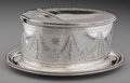 Silver Holloware, British:Holloware, An Elkington George III-Style Silver-Plated Spoon Warmer,Birmingham, England, circa 1893. Marks: (crown-E&Co),E&Co, H, R...