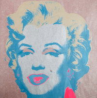 Andy Warhol (1928-1987) Marilyn Monroe (Marilyn), 1967 Screenprint in colors on paper 36 x 36 inc