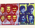 Post-War & Contemporary:Pop, Andy Warhol (1928-1987). Rats and Star, 1983. Screenprint in colors on Lenox Museum Board. 32 x 40 inches (81.3 x 101.6 ...