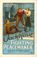 "Movie Posters:Western, The Fighting Peacemaker (Universal, 1926). One Sheet (27"" X 41"").. ..."