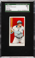 "Baseball Cards:Singles (Pre-1930), 1910 E102 ""Set of 25"" Honus Wagner (Batting) SGC 60 EX 5...."