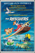 "Movie Posters:Animation, The Rescuers & Other Lot (Buena Vista, 1977). One Sheets (2) (27"" X 41""). Animation.. ... (Total: 2 Items)"