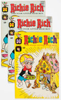 Silver Age (1956-1969):Humor, Richie Rich File Copy Group of 77 (Harvey, 1965-69) Condition: Average NM-.... (Total: 77 Comic Books)