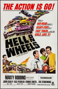 "Movie Posters:Sports, Hell on Wheels (Crown International, 1967). One Sheet (27"" X 41""). Sports.. ..."
