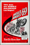 "Movie Posters:Exploitation, Hell's Angels '69 (American International, 1969). One Sheet (27"" X 41""). Exploitation.. ..."