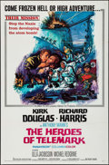 "Movie Posters:War, The Heroes of Telemark (Columbia, 1966). One Sheet (27"" X 41""),Lobby Card Set of 8 (11"" X 14"") & Color Photos (3) (8"" X 10""...(Total: 12 Items)"