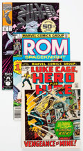Modern Age (1980-Present):Miscellaneous, Marvel Modern Age Long Box Group (Marvel, 1970s-90s) Condition: Average VF/NM....