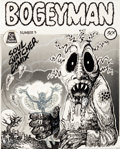Original Comic Art:Covers, Jack Jackson Bogeyman #3 Cover Original Art (Company andSons, 1970)....