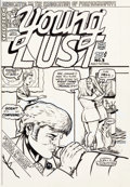 Original Comic Art:Covers, Bill Griffith Young Lust #3 Cover Original Art (Last Gasp,1972)....