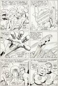 Original Comic Art:Panel Pages, Jack Kirby and Vince Colletta Fantastic Four #43 Story Page 14 Original Art (Marvel, 1965)....