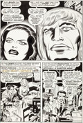 Original Comic Art:Panel Pages, Jack Kirby and Mike Royer Eternals #15 Story Page 12Original Art (Marvel, 1977)....