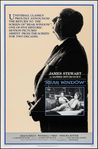 "Rear Window & Other Lot (Universal, R-1983). One Sheets (2) (27"" X 41""). Hitchcock. ... (Total: 2 Items)"