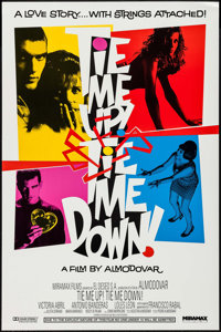 "Tie Me Up! Tie Me Down! (Miramax, 1990). One Sheet (27"" X 41""). Foreign"