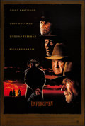 """Movie Posters:Western, Unforgiven (Warner Brothers, 1992). One Sheet (27"""" X 40"""") DS. Western.. ..."""