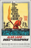 "Movie Posters:Action, Duel of Champions & Other Lot (Medallion, 1964). One Sheets (2)(27"" X 41""). Action.. ... (Total: 2 Items)"