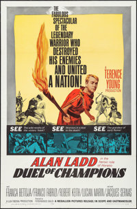 """Duel of Champions & Other Lot (Medallion, 1964). One Sheets (2) (27"""" X 41""""). Action. ... (Total: 2 Ite..."""