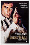 """Movie Posters:James Bond, Licence to Kill (United Artists, 1989). One Sheets (2) (27"""" X 41"""")Advance & Regular Styles. James Bond.. ... (Total: 2 Items)"""