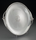 Silver Holloware, American:Trays, A Woodside Sterling Co. Silver Salver: Jello at a time likethis!, New York, New York, circa 1925. Marks: (W-wreath)...