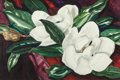 Fine Art - Painting, American:Modern  (1900 1949)  , A Loren Roberta Barton Watercolor on Paper: Magnolia Blooms.Signed lower right: Loren Barton. 17-3/4 x 26-3/4 i...