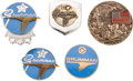 Explorers:Space Exploration, Grumman Employee Service and Commemorative Pins, Collection ofFive....