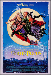 "Hocus Pocus & Other Lot (Buena Vista, 1993). One Sheets (2) (24"" X 40"" & 27"" X 41"") DS &..."
