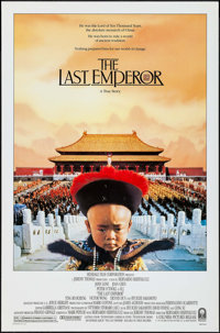 "The Last Emperor & Other Lot (Columbia, 1987). One Sheets (2) (27"" X 40"" & 27"" X 41""..."