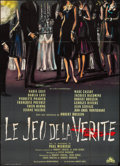 """Movie Posters:Foreign, The Game of Truth (Cocinor, 1961). French Grande (44"""" X 61.25""""). Foreign.. ..."""