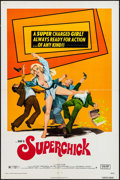 "Movie Posters:Bad Girl, Superchick & Other Lot (Crown International, 1973). One Sheets (2) (27"" X 41""). Bad Girl.. ... (Total: 2 Items)"