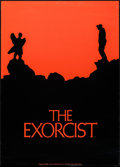 "Movie Posters:Horror, The Exorcist (Warner Brothers, 1974). Promotional Poster (22.25"" X31""). Horror.. ..."
