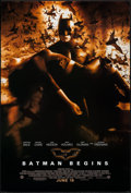 """Movie Posters:Action, Batman Begins (Warner Brothers, 2005). One Sheets (2) (27"""" X 40"""")Two Advance Styles. Action.. ... (Total: 2 Items)"""
