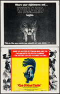 """Movie Posters:Horror, Cat O' Nine Tails & Others Lot (National General, 1971). Half Sheets (4) (22"""" X 28""""). Horror.. ... (Total: 4 Items)"""