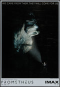 """Movie Posters:Science Fiction, Prometheus & Other Lot (20th Century Fox, 2012). IMAX Poster (13.5"""" X 19.5"""") Advance & One Sheet (27"""" X 40"""") DS Advance. Sci... (Total: 2 Items)"""