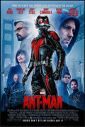 "Movie Posters:Science Fiction, Ant-Man (Walt Disney Studios, 2015). Autographed One Sheet (27"" X40"") DS Advance. Science Fiction.. ..."