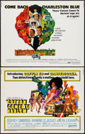 "Movie Posters:Blaxploitation, Cotton Comes to Harlem & Other Lot (United Artists, 1970). Half Sheets (2) (22"" X 28""). Blaxploitation.. ... (Total: 2 Items)"
