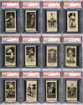 Baseball Cards:Lots, 1916 M101-5 Blank Backs (Sporting News) PSA NM 7 Collection (20Different). ...