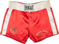 Boxing Collectibles:Memorabilia, 1980's Michael Spinks Training Worn Trunks....