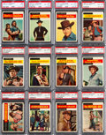 "Non-Sport Cards:Sets, 1958 Topps ""T.V. Westerns"" Complete Set (71) - #5 on the PSA SetRegistry...."