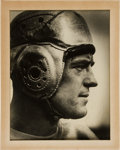 Football Collectibles:Photos, 1930's Dutch Clark Signed Oversized Photograph from The Joe Carr Find....