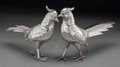 Silver Holloware, American:Other , A Pair of Silver-Plated Pheasant Table Ornaments, 20th century.7-1/8 inches high x 13 inches long (18.1 x 33.0 cm). P...(Total: 2 Items)