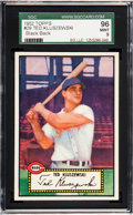 Baseball Cards:Singles (1950-1959), 1952 Topps Ted Kluszewski #29 SGC 96 Mint 9 - Pop One, None Higher....