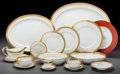 Ceramics & Porcelain, British:Modern  (1900 1949)  , A One Hundred and Forty-Three Piece Mintons H3706 PatternPartial Gilt Porcelain Service and Associated Wares, c... (Total:143 Items)