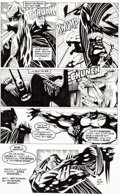 Original Comic Art:Panel Pages, Kelley Jones and John Beatty Batman #522 Story Page 16Original Art (DC, 1995)....