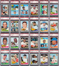 Baseball Cards:Sets, 1965 Topps Baseball PSA Graded Complete Set (598) - 100% NM-MT or MINT! ...