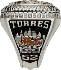 2015 new york mets national league championship ring presented lot baseball collectiblesothers 2015 new york mets national league championship ring presented topitcher alex sciox Images