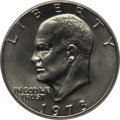Eisenhower Dollars, 1973-D $1 MS66+ PCGS. CAC. PCGS Population: (329/12 and 17/0+). NGC Census: (73/3 and 0/0+). Mintage 2,000,000. ...
