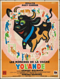 "Movie Posters:Foreign, The Memories of the Cow Yolande (DisCina, 1951). French Grande (47"" X 63""). Foreign.. ..."